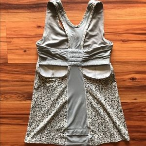 Lululemon floral print tank top small